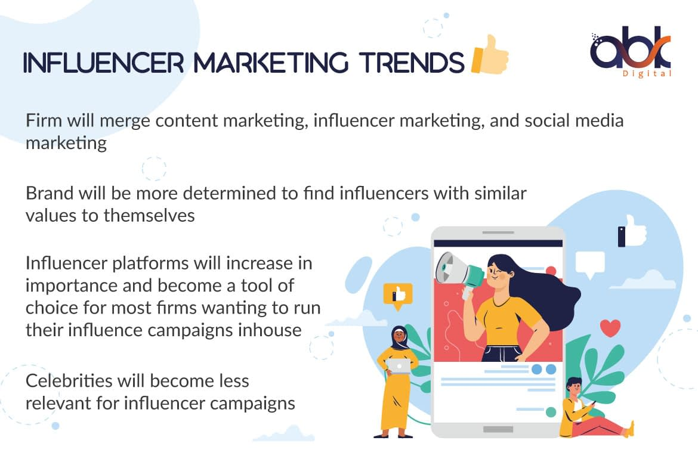 Influencer Marketing Trends - ABK Digital
